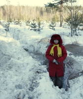 Highlight for album: 2009 Февраль 20-23 Экспедиция Гусь-железный